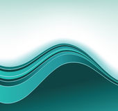 Blue curve background Stock Photography
