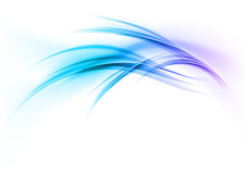Blue curves Royalty Free Stock Photography