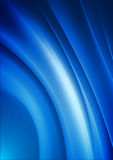 Blue curves Royalty Free Stock Image