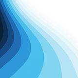 Blue curves. Background with copy space vector illustration