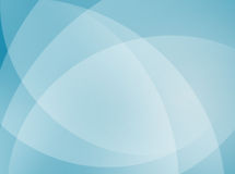 Blue Curves Background Royalty Free Stock Photos