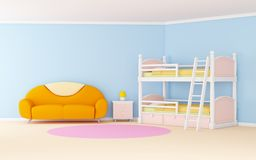 Child room soft Stock Photo