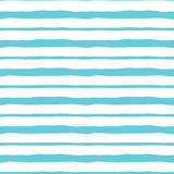 Blue cute striped structure. Vector abstract background. Seamless pattern. Royalty Free Stock Photo