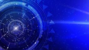 Blue Cyber Radial Tech 4K Loop