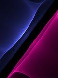 blue czerwonego dymu zdjęcia stock