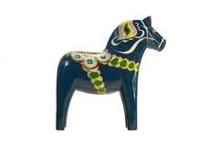 The blue Dala Horse Royalty Free Stock Photography