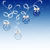 Blue Damask Ornaments Royalty Free Stock Photography