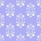 Blue Damask Pattern Royalty Free Stock Photo