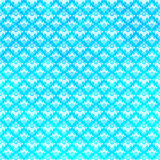 Blue Damask Pattern Royalty Free Stock Photos