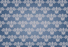 Blue Damask Pattern Stock Photos