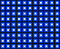 Blue Dance Floor Background. Abstract background - disco blue dance floor vector illustration