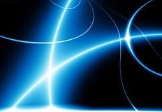 blue dance lights Στοκ Εικόνες