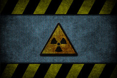Blue danger Royalty Free Stock Images