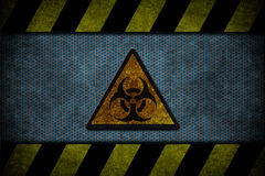 Blue danger Stock Photo