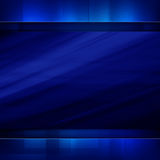 Blue dark abstract background Stock Image