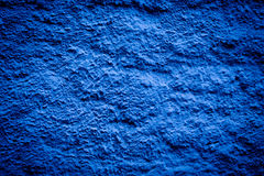 Blue darken wall texture Royalty Free Stock Photo