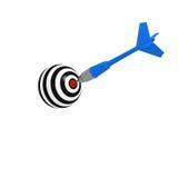 Blue dart Royalty Free Stock Photos