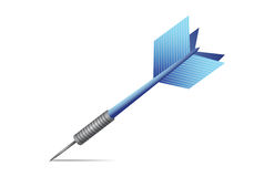 Blue dart illustration design Stock Photos