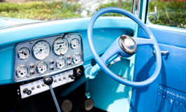 Blue Dashboard Royalty Free Stock Image