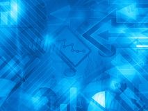Blue data corporate abstract financial background. Illustration stock illustration