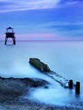 Blue Dawn Lighthouse at Dovercourt Stock Images