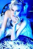 Blue decoration Stock Photography