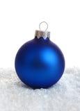Blue decoration. On white background Stock Photos