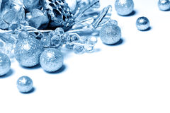 Blue decoration Stock Image