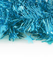 Blue Decoration for Christmas and New Year Stock Photo