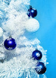 Blue decorations Royalty Free Stock Images