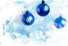 Blue decorations Stock Photos