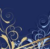 Blue decorative background Royalty Free Stock Photography