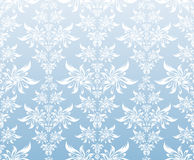 Blue decorative ornament Royalty Free Stock Photography