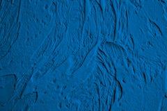 Blue decorative plaster, graphics Stock Photo