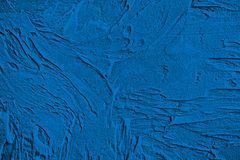 Blue decorative plaster, graphics Stock Images
