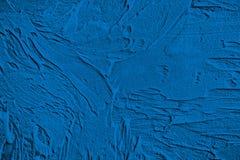 Blue decorative plaster, graphics Stock Images