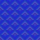 Blue decorative tile able pattern Stock Photography