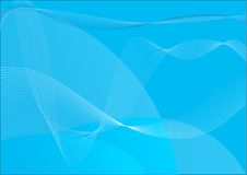 Blue decorative vector Stock Images