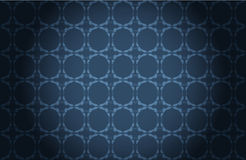 Blue decorative wallpaper Royalty Free Stock Photography