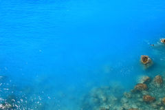 Blue deep water Stock Images