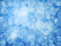 Blue defocus abstract background Stock Photos