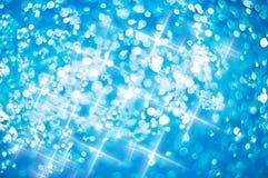 blue defocus light Στοκ Φωτογραφίες
