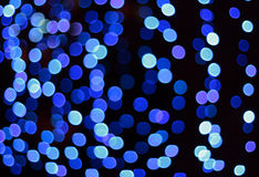 Blue defocus spots background Royalty Free Stock Photography