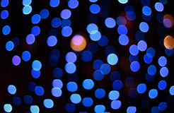 Blue defocus spots background Stock Photo