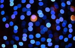Blue defocus spots background Stock Photo
