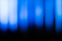 Blue defocused lights Stock Photography