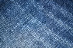 Blue demin fabric texture background Stock Photos