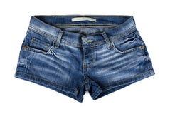 Blue Demin Shorts Stock Photos