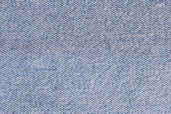 Blue denim. Fabric (as a background Stock Image