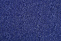 Blue denim background Stock Image